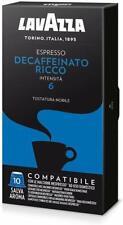 200 Capsule Lavazza Compatibili Nespresso Caffè Espresso Decaffeinato Ricco Dek