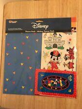 Disney Theme park Sandylion Sticker scrapbook kit