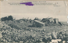 PC36249 La Grande Guerre. Aspect of the Sugar Works. After the French Troops Com