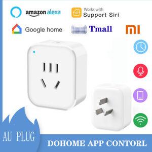 AU Smart Plug WiFi Outlet Socket Remote Control&Timer HomeKit Alexa Google Home