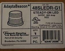 AdaptaBeacon 48SLEDR-G1 Red Steady-on LED - NEW