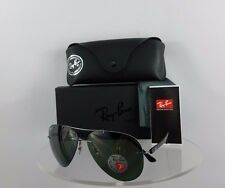 Brand New Authentic Ray Ban RB8058 Sunglasses 004/9A Black 59mm Frame LightRay