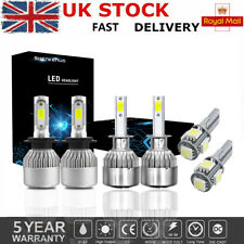 Fits Hyundai i30 H1 55w Tint Xenon HID Low Dip Beam Headlight Bulbs Pair