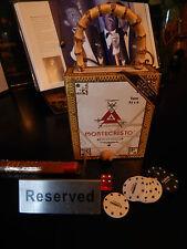 Monte Cristo White Red Gold Womens Cigar Box Handbag Purse Collectible Authentic