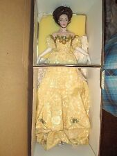 "Franklin Heirloom ""Margaret Presentation To The Queen"" porcelain doll"