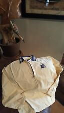 Men's Vintage Zip Up Polo Jacket !! Size (Small)