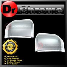 15-17 Ford F150 Truck Triple Chrome Mirror Cover Top Half 1 Pair Platinum FX4