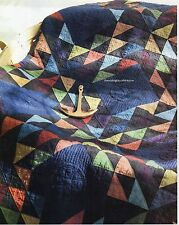 Ships In The Night Quilt Pattern Pieced KC
