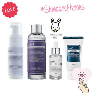 Klairs Cruelty-Free Vegan K-Beauty Skincare Basic Set - UK SELLER