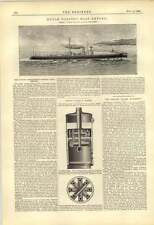 1888 Dutch Government Torpedo Boat Empong David Wood Cradley Heath Boiler