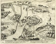 RHEINBERG - VOGELSCHAU - Willem Baudartius - Kupferstich 1621