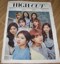 HIGH CUT VOL.182 TWICE NANA AFTER SCHOOL KOREA MAGAZINE TABLOID NEW