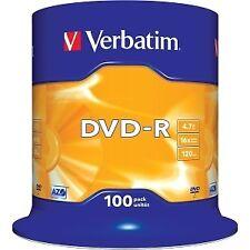 Dvd R grabable Virgen envase 10 unidades Verbatim calidad