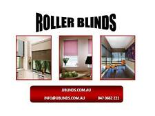 BLOCKOUT  ROLLER BLINDS fabric sample from $10