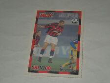 MILAN CALCIO-CARTOLINA FORZA MILAN 2003/2004 CALCIATORE A. SHEVCHENKO CM. 10X15