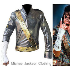 Rare MJ Michael Jackson Dangerous JAM JACKET   Metal BELTS SET - Pro Series  Gift 900d305412ee