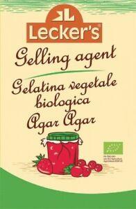 GELATINA VEGETALE BIOLOGICA AGAR AGAR 30 g - LECKER'S