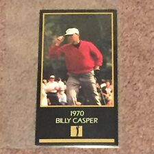 1970 Billy Casper Golf Card: The Masters Collection (Trading Cards, Sports, Fan)