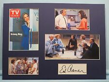 The Mary Tyler Moore Show and Ed Asner autograph aka Lou Grant