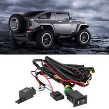 12V Universale Auto LED Fendinebbia Interruttore Cablaggio Relè Fusibile Kit