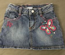 Sonoma Girls Size 5 Denim Skirt Skort