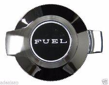 MOPAR 1969-1970 CHARGER 69 BARRACUDA FLIP TOP GAS CAP NEW CHROME FUEL DOOR