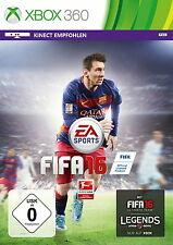 FIFA 16 (Microsoft Xbox 360, 2015, DVD-Box)