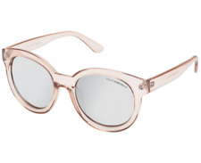 "CANCER COUNCIL Womens ""Duchess"" Crystal Nougat & Silver Mirror Sunglasses - NWT!"