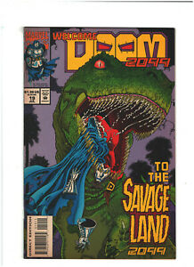 Doom 2099 #19 VF+ 8.5 Marvel Comics 1994 Savage Land
