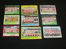 AS CANNES  1 team equipe original choix PANINI FOOTBALL 1988-1999