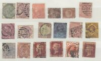GB QV Collection Of 18 Fine Used JK392