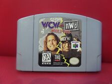WCW vs. NWO World Tour (Nintendo 64, 1997) N64 tested working
