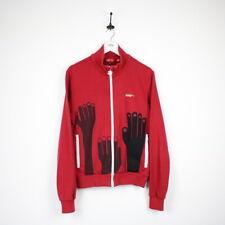 Mens PUMA Zip Sweatshirt Jumper Red   Medium