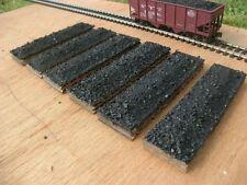Athearn 34 ft. twin bay coal loads - HO scale - Handmade Sets