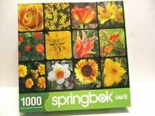 "Springbok "" Golden Blooms "" Puzzle 1000 33-10734"