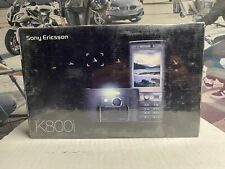 Sony Ericsson K800i Phone Old Stock Rare collectors Mobile Phone GSM