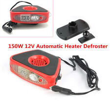 150W Car Heater Heated Windscreen Window Demister Defroster LED Flashlight Handy