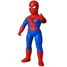 "MEDICOM TOY_Marvel Retro Sofubi Collection_SPIDER-MAN 10"" Vinyl figure_Exclusive"