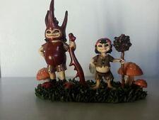 Brownie Boys Fairpeeps by Misaki Sawada Miniature Fairy Collectible Figures