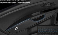 Punto azul 2x Frontal Puerta Tarjeta Apoyabrazos tapa se ajusta Fiat Grande Punto 05-11 3DR