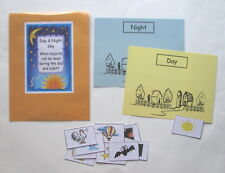 Teacher Made Science Center Learning Resource Game Distinguishing Day & Night