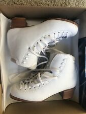 Jackson Competitor Dj5400 Supreme Low Cut Figure Skating Boots Size 6A