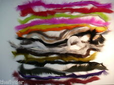 RABBIT 18 ZONKER STRIPS 18 Colors Great Travel Set -- Fly Tying Combo Packs