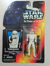 STAR WARS THE POWER OF THE FORCE STROMTROOPER ORANGE CARD