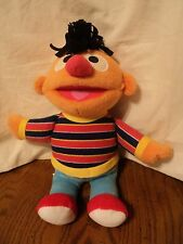 "Fisher Price Sesame Street Ernie Plush 2002 Mattel 10"""