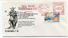 1976 Viking A Mars Landing Madrid Space Station INTA NASA Satellite Sonda Espana