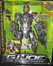 G.I.JOE THE RISE OF COBRA*ACCELERATOR SUIT DUKE*16 INCHES*MOTORIZED ACTION*WOW!