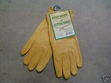 Soft Leather Work Gloves Size 9 -Tuff Mate