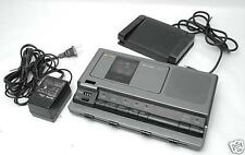 Sanyo Memo Scriber TRC 8030 Cassette transcriber, Ac, Pedal, Headset WARRANTY