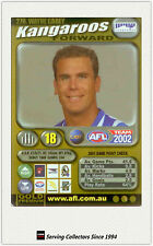 2002 AFL Teamcoach Gold Trading Card #270 Wayne Carey (Kangaroos)